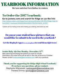find your high school yearbook free yearbook information 1 2 ridge pto