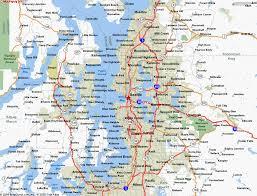 seattle map usa map of seattle washington travelsmaps