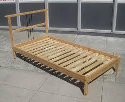 uhuru furniture u0026 collectibles sold twin pine bed frame 45