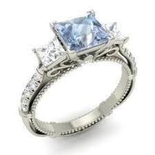 aquamarine diamond ring aquamarine engagement rings for women march birthstone