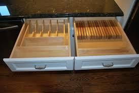 kitchen drawer storage ideas flatware drawer organizer image of used kitchen drawer organizer
