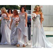 grey bridesmaid dresses grey bridesmaid gown gray prom dresses chiffon prom gown simple