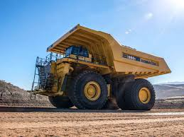 komatsu intros the 980e 4 its largest haul truck yet equipment