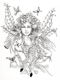 get this printable hard coloring pages of angel for grown ups 386ryt