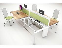 Bench Desking Aura Bench Desking System Huntoffice Co Uk