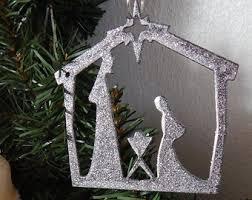 baby jesus ornament etsy