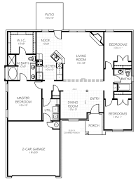 Home Floorplan The Carter Oklahoma New Home From Home Creations