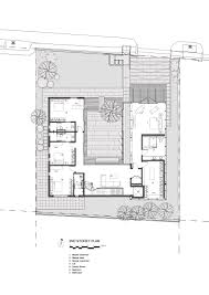 gallery of the courtyard house ar43 architects 17 for small view full size image download floor plan