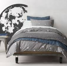 Space Themed Bedding Starry Night U0026 Galaxy Print Percale Bedding Collection