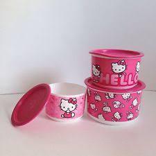 tupperware kitty canister ebay