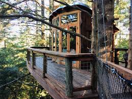 Coolest Treehouses Treehouse Photos At Treehouse Point In Fall City Washington Would
