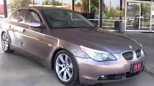 bmw 545i 2004 2004 bmw 5 series 545i brown stock 8138