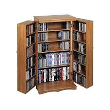 Dvd Storage Cabinet 40 Cd Dvd Media Storage Cabinet In Oak Cd 612d