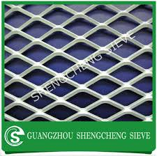 heavy duty industrial iron mesh expanded metal sheet for trailer