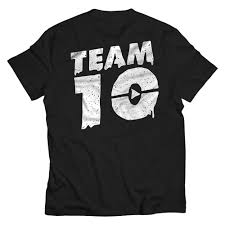team 10 halloween ghost drip shirt fanjoy