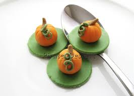 Halloween Decorations Cakes Edible Halloween Cupcake Toppers 3d Pumpkin Fondant Cake