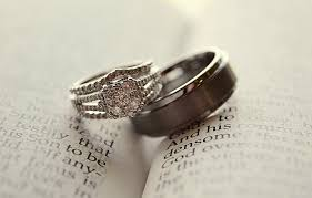 marriage rings wedding rings on bible by jenbarger on deviantart