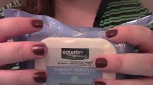 expeditious escape makeup remover package asmr youtube
