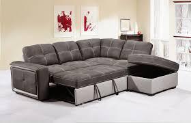 Corner Sofa Bed Grey Fabric Corner Sofa Bed