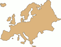 Europe Continent Map by Clipart Map Europe Collection