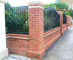 Garden Brick Wall Design Ideas Garden Bricks Walls New Brick Garden Wall Landscaping V Brick