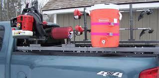 Landscape Truck Beds For Sale Pickup Truck Landscape Kit 2 Place Trimmer Rack By Rack U0027em Mfg