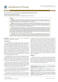 ls for seasonal affective disorder reviews treatment for insomnia in depressed pdf download available