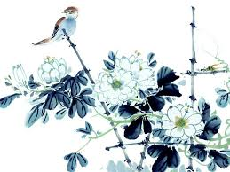 floral art exhibition wallpapers chinese painting flowers and birds jpg 1024 768 bob art