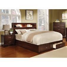 bookcase bedroom set furniture of america louis 3 piece queen bookcase bedroom set in