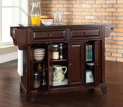 mahogany kitchen island buy newport kitchen island in mahogany finish