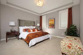 Burnt Orange Curtains Sale Burnt Orange Curtain With Wood Nightst And Bedroom