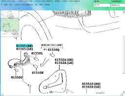 wiring diagram fuses and reverse light auris club toyota