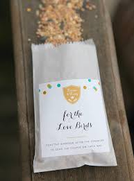 bird seed wedding favors best 25 bird seed favors ideas on bird seed feeders