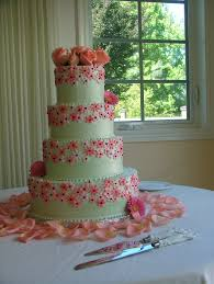 wedding cake kit file pink decorated wedding cake tiered jpg wikimedia commons