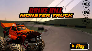 monster truck game video drive hill monster truck 3d android apps on google play