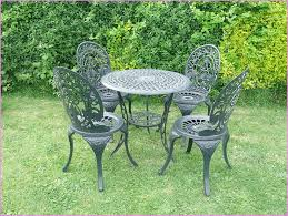 wrought iron bistro table and chair set enchanting popular cast iron outdoor furniture all home decorations