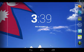 Ka Flag 3d Nepal Flag Live Wallpaper Android Apps On Google Play