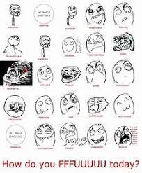 Meme Faces List - all troll emoticons mungfali