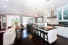 open concept kitchen living room designs vanity kitchen and living room designs extraordinary ideas open