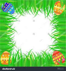 easter frame colorful egg stock vector 26198257 shutterstock