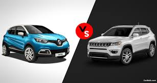 new renault captur 2017 renault captur vs jeep compass total comparison car malik