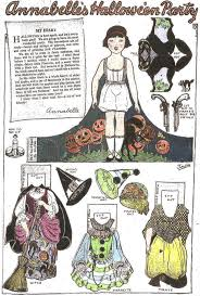 Halloween Cutouts Printable by 116 Best Halloween Paper Dolls Images On Pinterest Paper