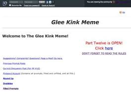 Spn Kink Meme Pinboard - ideal 22 glee kink meme pinboard wallpaper site wallpaper site