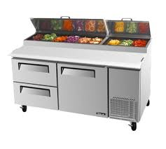 continental pizza prep table commerciall refrigerated pizza prep tables from norlake turbo air