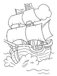 pirate ship coloring pages printable jake neverland