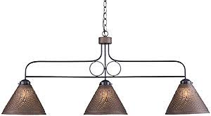 Punched Tin Pendant Light Franklin 3 Light Punched Tin Pendant With Choice Of Finish House