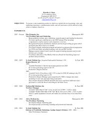 basic resume exles for objective for sales resume venturecapitalupdate