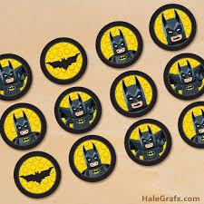 batman cake toppers printable lego batman cupcake toppers