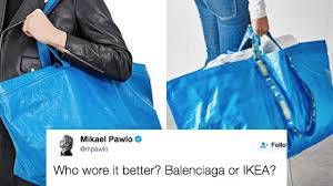 high end ikea everyone is trolling this high end fashion designer for releasing a