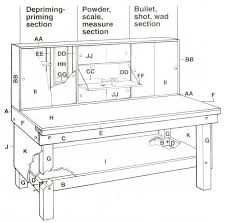Free Wood Workbench Designs by Best 25 Reloading Bench Plans Ideas On Pinterest Workbench